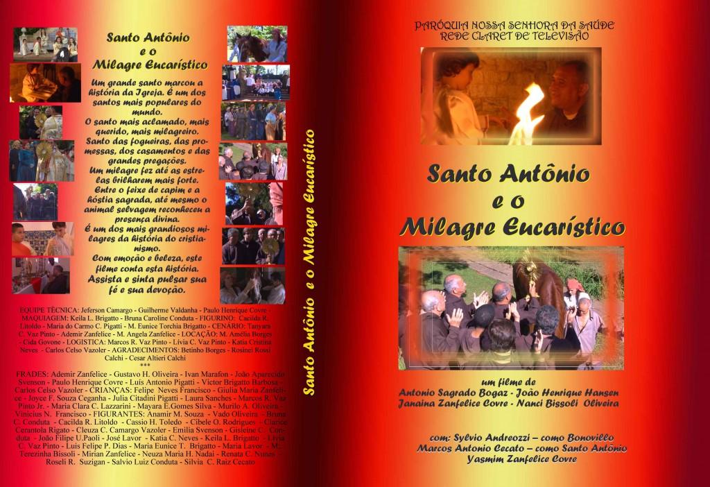 filme - santo antonio - capa DVD
