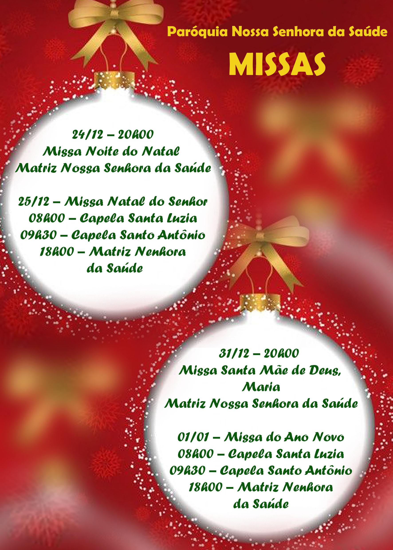 Missas natal